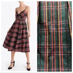 NWT J. CREW Plaid Dress